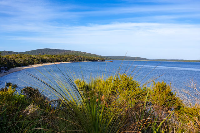 A view over Nornalup Inlet