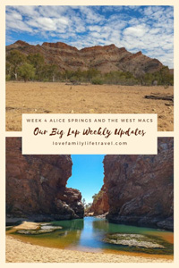 Our Big Lap week 4 update pinterest image