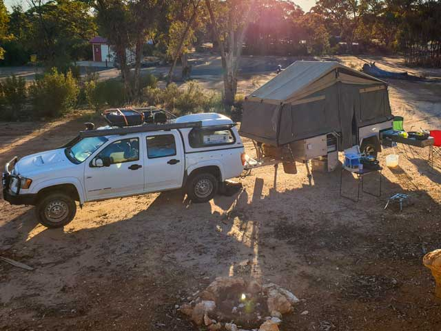 Using our Camper and we realised we had to clean the camper water tank before we went remote camping