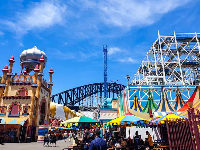 If you have kids, Luna Park is one of the best things to do in Sydney.
