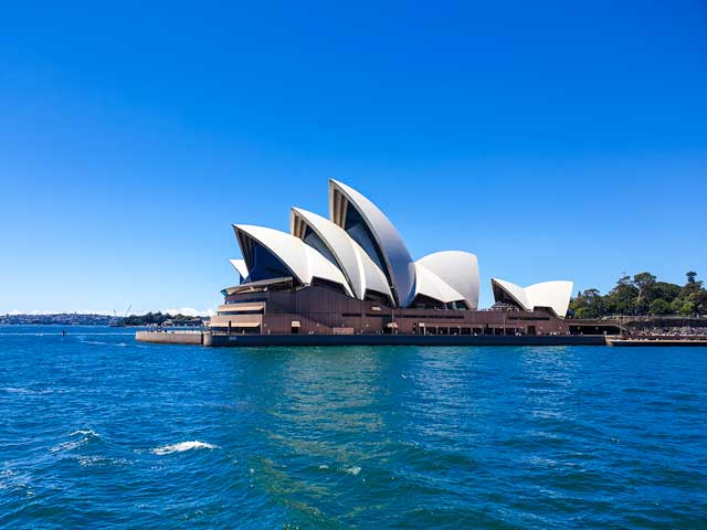 The view of the Sydney Opera House from the Manly Ferry is one of the best things to do in Sydney.